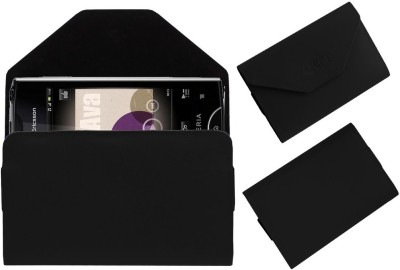 ACM Pouch for Sony Ericsson Xperia Ray St18i(Black, Cases with Holder, Artificial Leather)