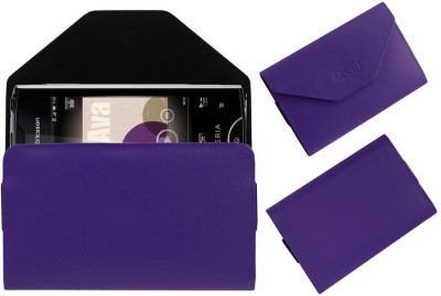 ACM Pouch for Sony Ericsson Xperia Ray St18i(Purple, Cases with Holder, Artificial Leather)