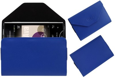 ACM Pouch for Sony Ericsson Xperia Ray St18i(Blue, Cases with Holder, Artificial Leather)