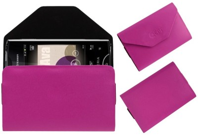 ACM Pouch for Sony Ericsson Xperia Ray St18i(Pink, Cases with Holder, Artificial Leather)