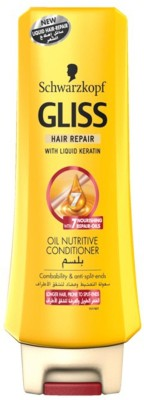 Schwarzkopf Gliss Hair Repair with Liquid Keratin Oil Nutritive Conditioner(400 ml)