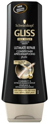 Schwarzkopf Gliss Hair repair with Liquid Keratin Ultimate Repair Conditioner(400 ml)