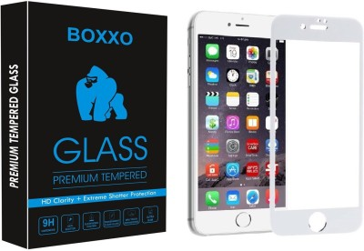 Boxxo Tempered Glass Guard for Apple iPhone 6(Pack of 1)