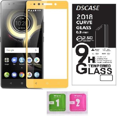 DSCASE Tempered Glass Guard for Lenovo K8 Plus(Pack of 1)