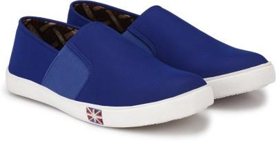 Shoe Day Slip On Sneakers For Men(Blue