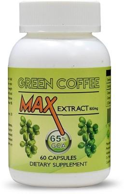 Perennial Lifesciences Green Coffee Max Extract Chlorogenic Acid  Gca  800Mg Vegetarian 60 Capsules 60 No Perennial Lifesciences Vitamin Supplement