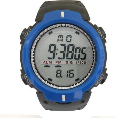 Piu collection PC _Timex_Blue Stylish With Attractive Look Stop Watch And Alarm Watch  - For Boys   Watches  (piu collection)