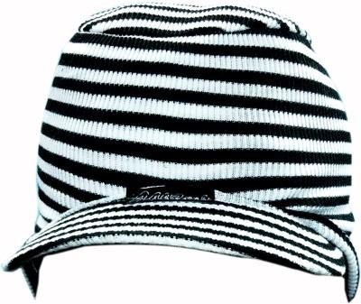 Bizarro.in Striped Skull Cap
