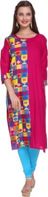 SEAGULL Casual Printed Women Kurti(Pink)
