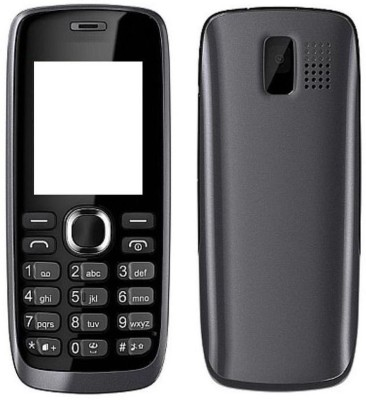 Smart Full Body Housing for Nokia 112 Full Panel(Black)