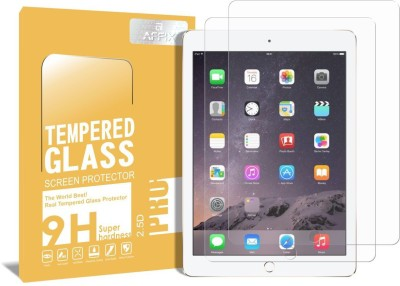 Affix Tempered Glass Guard for Apple iPad Air, Apple iPad Air 2, Apple iPad Pro [9.7 Inch] - Pack of 2