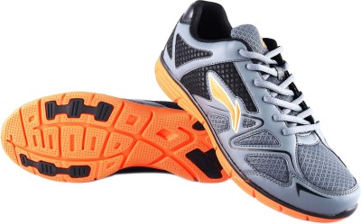 Li-Ning Caliber Running Shoes(Grey)  available at flipkart for Rs.1076