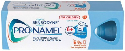 Sensodyne Pronamel Toothpaste protect for tooth decay and acid wear for children (Imported, Made in UAE) Toothpaste(50 g)