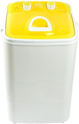 DMR 4.6/2 kg Semi Automatic Top Load Washer with Dryer Yellow, White(46-1218) (DMR)  Buy Online