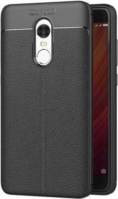 SHINESTAR. Back Cover for Mi Redmi Note 4 Black