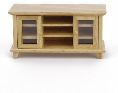 Living Room Furniture Wooden Wine Cabinet Walnut 1 12 Dollhouse