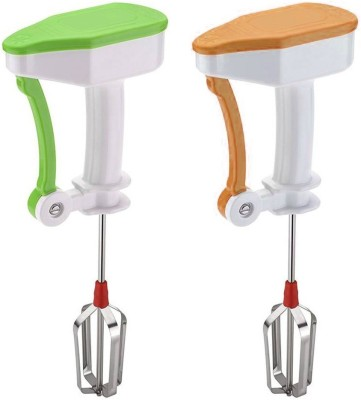 Prince Power free easy flow Green and Orange color 0 W Hand Blender(Multicolor)