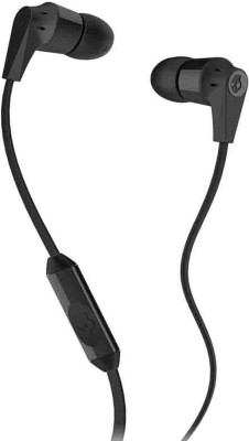 NeroEdge Soroo In Ear Black Wired Earphones With Mic 3.5mm Headset For Samsung, Apple, Oppo, Vivo, Motorola, Micromax, HTC, Intex, Lenovo, Redmi, Sony, Spice, Nokia Wired Headset with Mic(Black, In the Ear)