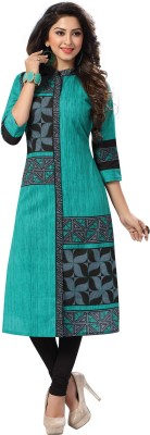 Ishin Cambric Cotton Printed Kurti Fabric(Un-stitched)