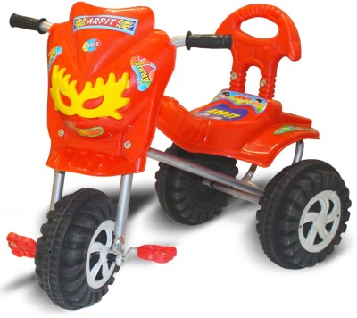 AKSHAT BABY STYLISH & ROYAL TRICYCLE WITH MUSIC & LIGHT(Red)  available at flipkart for Rs.499