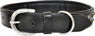 ZUMAR Dog Everyday Collar(45 - 66 cm, Black)
