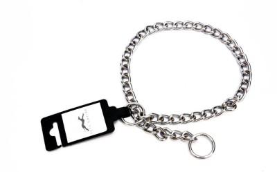 Pets Empire Chain Dog Training Choke/Collar 3.5mm X 60cm 60 cm Dog Chain Leash(Silver)