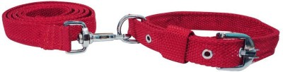 Pets Empire Dog Nylon Leash and Collar (Large) 125 cm Dog Strap Leash(Red)
