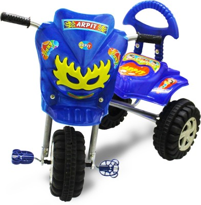 AKSHAT Baby Royal & Stylish Tricycle Tricycle(Blue)  available at flipkart for Rs.499