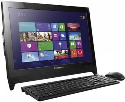 Lenovo - (Celeron Dual Core/4 GB DDR3/500 GB/Windows 10 Home)(Black, 19.5 Inch Screen)