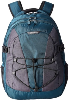 Samsonite Albi 30 L Laptop Backpack(Black, Blue, Grey)