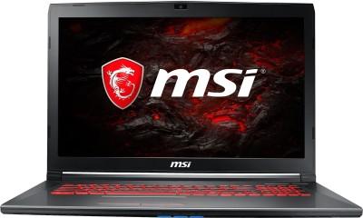 MSI GL Series Core i7 7th Gen - (8 GB/1 TB HDD/128 GB SSD/Windows 10 Home/4 GB Graphics) GV72 7RE-1464IN Laptop(17.3 inch, Grey, 2.7 kg)