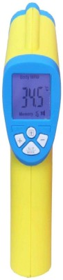 BalRama Multifunctional Non Contact Medical Infrared Human Body Thermometer with Instant Temperature Measurement + LCD Backlight + Fever Alram + 32 Memory + Auto Shutdown + Buzzer Temperature Meter Sensor for Water, Room, Object, Wall, Food, Milk, Cooking, Infant, Adult, Senior Digital Bath Thermome  available at flipkart for Rs.1090