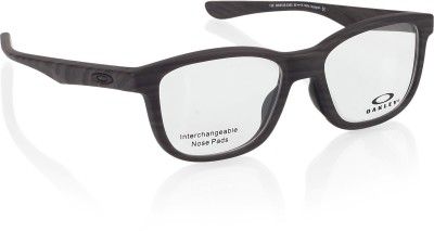 Oakley Full Rim Wayfarer Frame(50 mm) at flipkart