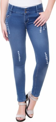 Under ₹699 Women Jeans Flying Machine, Crease & Clips..
