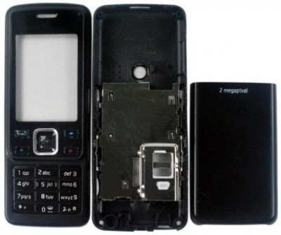 Smart Full Body Housing Panel For Nokia 6300 Full Panel(Black)
