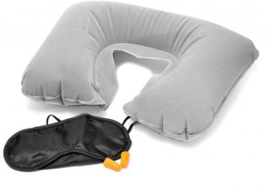 Swarish Travel Rest Kit Neck Pillow & Eye Shade (Dim Grey) Neck Pillow(Gray)  available at flipkart for Rs.250