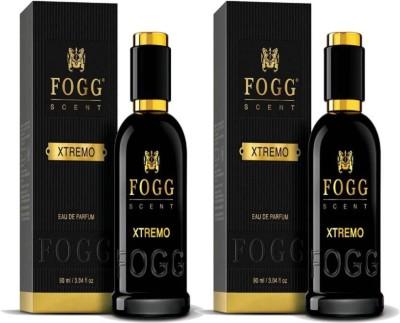 Fogg Scent Xtremo EDP Perfume Pack of 2 (90ML each) Eau de Parfum  -  180 ml(For Men)  available at flipkart for Rs.998