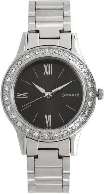 Sonata 8123SM02 Stardust Analog Watch For Women