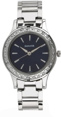 Sonata 8123SM03 Stardust Analog Watch For Women