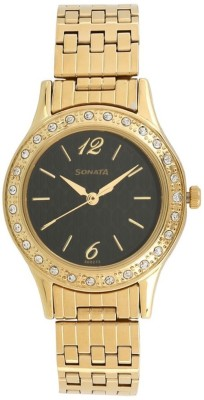 Sonata 8123YM02 Stardust Analog Watch For Women