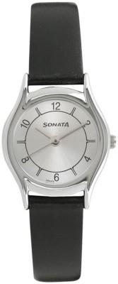 SONATA NN87020SL03W Essentials Analog Watch - For Women