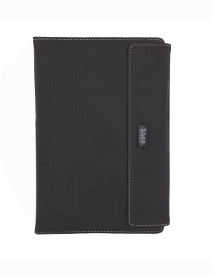 Saco Flip Cover for Apple iPad 4(Black, Artificial Leather)