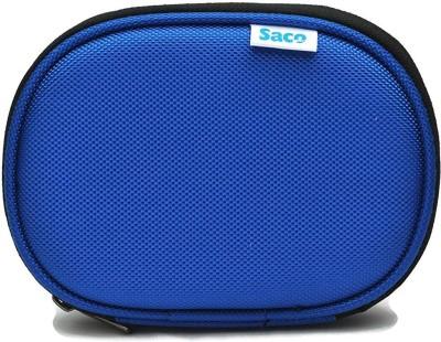 Saco 123-Blue 2.5 Inch External Hard Disk Cover(For Western Digital Passport & Essential, Buffalo HDD, Samsung HDD, Toshiba HDD, Verbatim HDD, Seagate, Blue)