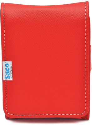 Saco HDD - Red 2.5 Inch External Hard Drive Cover(For Western Digital Passport & Essential, Buffalo HDD, Samsung HDD, Toshiba...