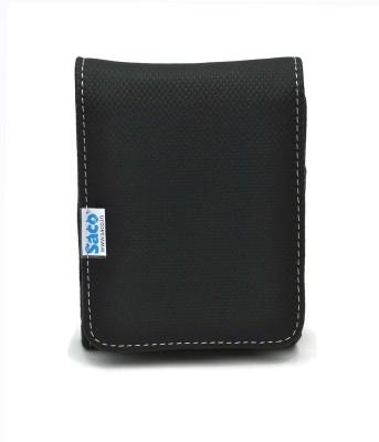 Saco 123-Black 2.5 Inch External Hard Disk Cover(For Western Digital Passport & Essential, Buffalo HDD, Samsung HDD, Toshiba HDD, Verbatim...