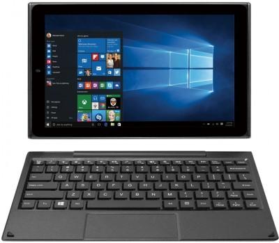 Venturer Quad Atom Quad Core 2nd Gen - (2 GB/64 GB SSD/64 GB EMMC Storage/Windows 10 Home/2 GB Graphics) WT19803W87DB 2 in 1 Laptop(10.1 inch, Metallic Black)