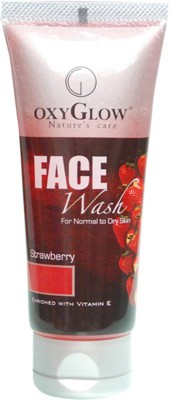 OxyGlow cosmetics STRAWBERRY Face Wash(100 g)  available at flipkart for Rs.101