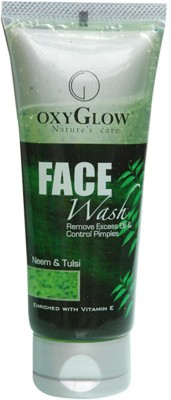 OxyGlow cosmetics NEEM & TULSI Face Wash(100 g)  available at flipkart for Rs.105