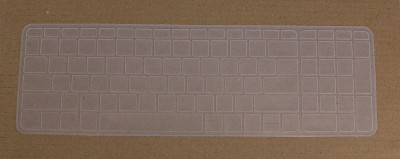 Saco SiliconeChicletProtectorCoverFitfor HP 15-ac082TX Laptop Keyboard Skin(Transparent)  available at flipkart for Rs.355