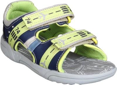 Clarks Boys Velcro Flats(Light Blue)